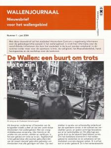 Wallenjournaal nummer 1 (juni 2004)